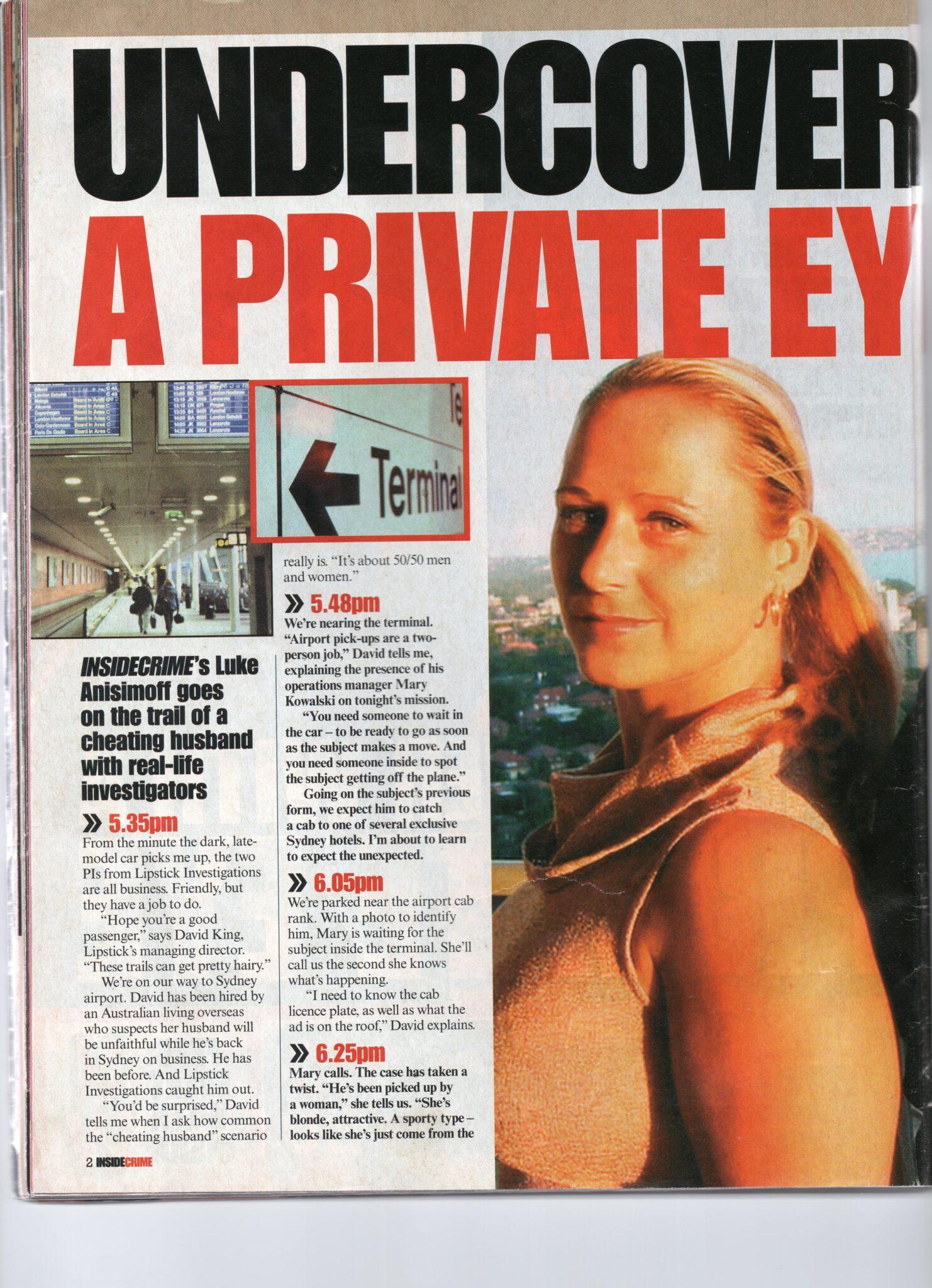 private investigator story